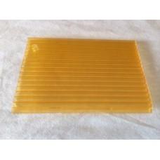 Изображение - Сотовый поликарбонат желтый 16мм* 2100*12000 мм