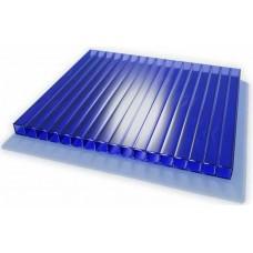 Сотовый поликарбонат синий 10 2R Стандарт