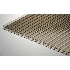 Изображение -  Сотовый поликарбонат бронза 4мм* 2100*12000 мм