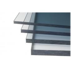 Монолитный поликарбонат прозрачный 12мм*2050*3050мм