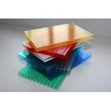 Сотовый поликарбонат Цветной 4мм* 2100*12000 мм