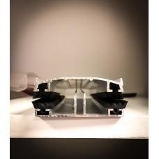 Изображение - Профиль соединительный алюминиевый комплект (база, крышка, резина)