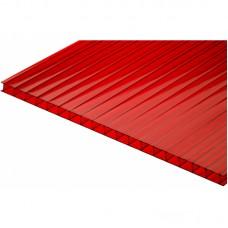 Изображение - Сотовый поликарбонат Красный 6мм* 2100*12000 мм