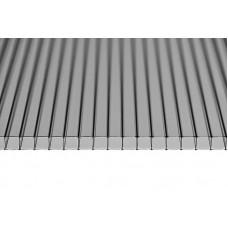 Сотовый поликарбонат серый 16мм* 2100*12000 мм