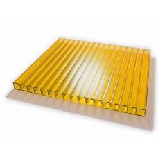 Изображение - Сотовый поликарбонат Желтый 6мм* 2100*12000 мм